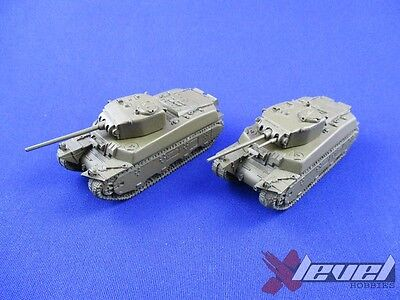 US085 M6 [Resin and Metal] [x2] USA [Flames of War] Primed