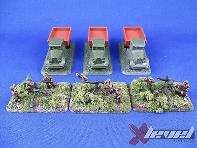 SU162 Dsh AA Truck [x3] Soviet – USSR [Flames of War] Painted