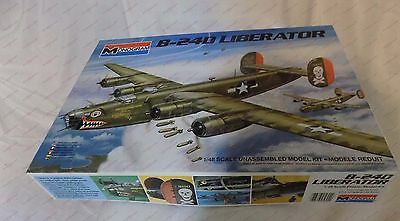 Monogram 1:48 B-24D Liberator Plastic Aircraft Model Kit 5604