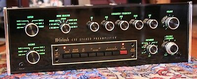 McIntosh C32 Stereo Preamplifier/ Excellent