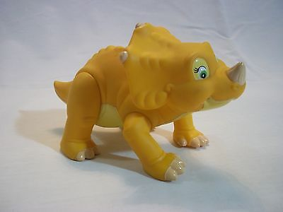 Vintage 1996 Land Before Time Cera Triceratops Dinosaur Figure Poseable Toy 7""