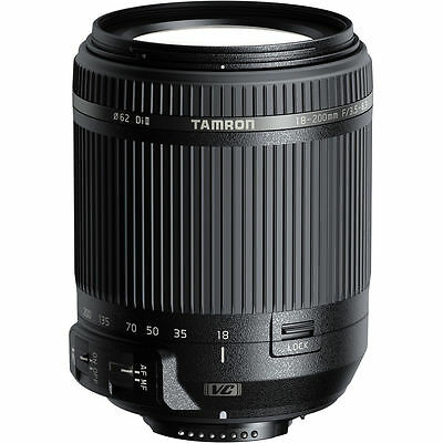 Tamron 18-200mm f/3.5-6.3 Di II VC (B018) Lens for Nikon F Black AU