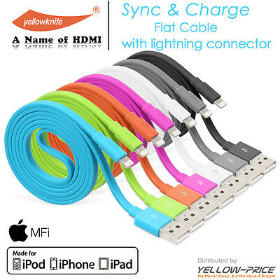 Apple Licenced Lightning USB Charger Cable for iPhone 7 6S 6+ 6s plus 5s 5 5C SE