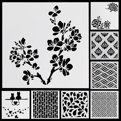 Layering Stencil Template For DIY Scrapbooking Photo Album Paper Cards Craft HOT
