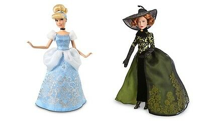 Disney Store Cinderella Princess Doll Lady Tremaine stepmother set NIB New toy