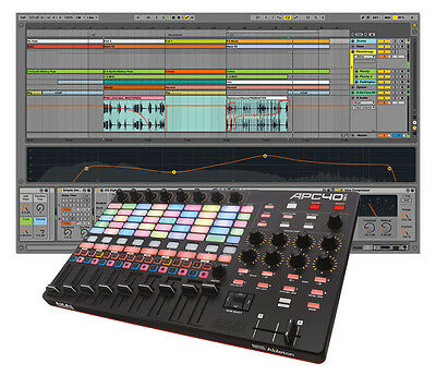 Ableton Live 9 Suite and Akai APC40 mkII Control Surface Bundle (NEW)