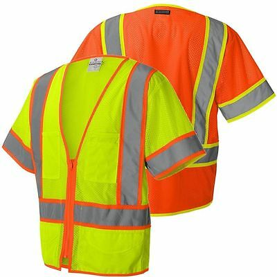 High Vis Reflective Visibility Vest/waistcoat CLASS 3 ULTRA-COOL MESH Safetywear