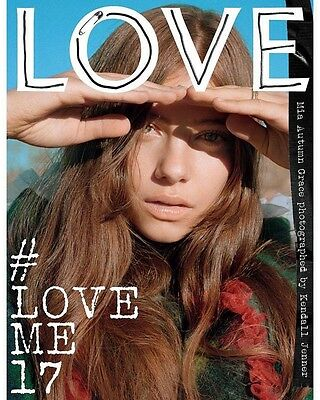 LOVE Magazine Issue 17 Spring/Summer 2017 - Mia Autumn by Kendall Jenner