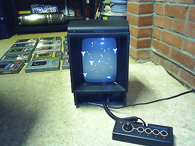 Vectrex Games Console In Mint Condition With All 18 Games And Light Pen