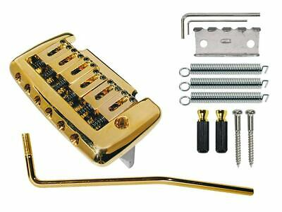 T320G gold PRS style vintage Tremolo 10,5 spacing mit dickem Suatainblock