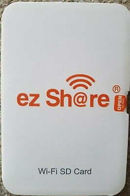 Ez Share Wifi SD Card Adapter 4 CANON NIKON OLYMPUS CAMERAS FlashAir alternative