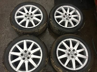 "Jag S-Type – Set of 4 - 16"" Alloy wheels And Tyres"
