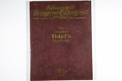 The Complete Thief's Handbook (Advanced Dungeon & Dragons, 2nd Edition