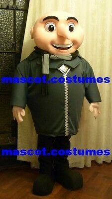 bad boss Minions despicable me gru Mascot Costume birthday party dress Character