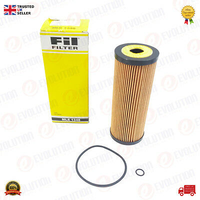 Fil Oil Filter Fits Audi A3 A4 Vw Golf Crafter Passat Polo Skoda Seat, Mle 1348