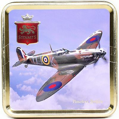Stewart's Scottish Fudge Tin: The Timeless Spitfire; 100g
