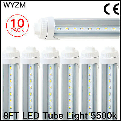 T8/T10/T12 LED Light Tube, 8ft 40W R17d ,Replaced Philips 38177-4 - F96T12/CW/HO