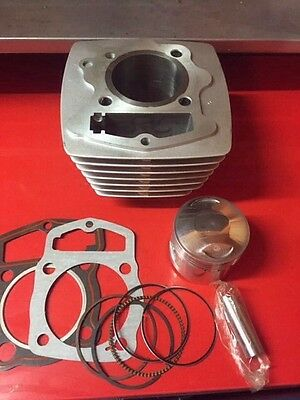 Honda TL125 150cc Trials Big Bore Kit ,Big Fin Cyl  61mm Bore  xl125 cb125