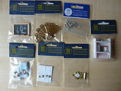 DOLLS HOUSE EMPORIUM Assorted items All New Small job lot 1/12 scale Dolls house
