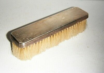 Vintage Sterling Silver Clothes Brush - Bham 1911