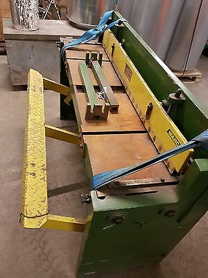 Warco Foot Treadle Metal Guillotine 4ft Good Condition