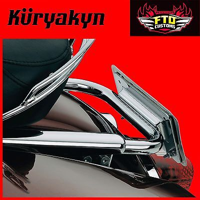 Kuryakyn Lay Down License Plate Holder for Road Kings & Road Glide 113