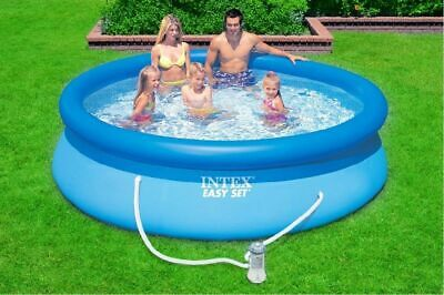NEW Summer Waves Quick Set 10ft Swimming Pool, Filter Pump, Cover, Ground Sheet