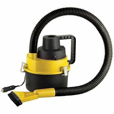 Portable 12V Wet & Dry Vacuum Cleaner Hover Auto Car Truck Van Floor Air Pump