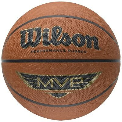 Wilson MVP Basketball - Brown - Size 5, 6 or 7 - Outdoor Play / Training