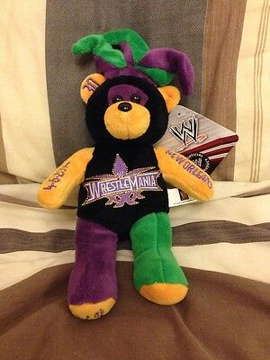 WWE Wrestlemania 30 Limited Edition Collectable Bear Plush