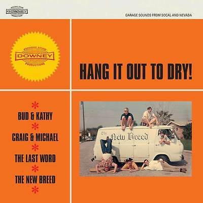 "HANG IT OUT TO DRY vinyl 7"" EP NEW garage punk Last Word Bud & Kathy Downey"
