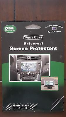 """Fellowes 9201001 WriteRight Universal Screen Protectors-up to 6.5""""x8.5"""" GPS Size"""