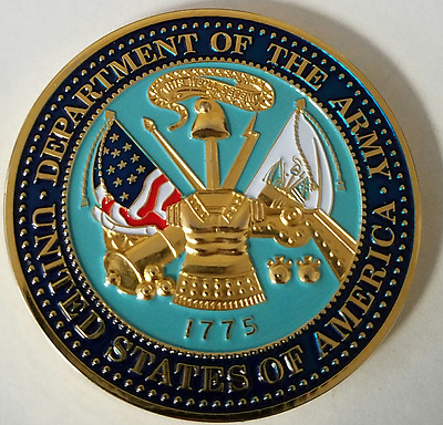 US Army Dept. of the Army The Adjutant General's Corps Regiment LEGAL 17 June 87