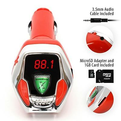SoundRacer X Sports Engine Sound Effect FM transmitter with MicroSD Card