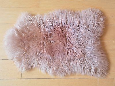 UNIQUE White Cream Ivory Grey SHEEPSKIN RUGS Choose yours 100% Natural EXCLUSIVE
