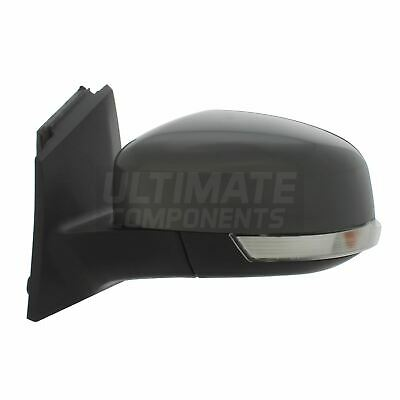 Ford Focus Mk3 Hatchback 2/2011-> Electric Wing Mirror Primed Passenger Side N/S