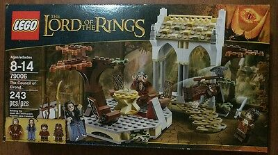 NEW Lego The Lord of the Rings The Council of Elrond 79006