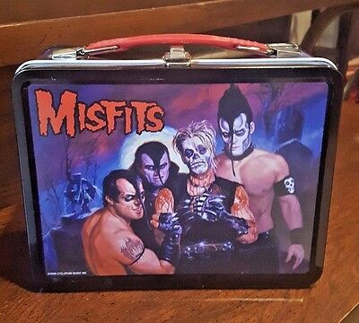 MISFITS Famous Monsters Metal Collectible Lunchbox NECA