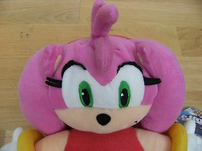 Sega Sonic The Hedgehog's AMY ROSE Soft Plush Toy With Original Tag