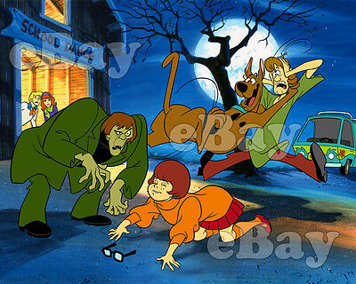 EXTRA LARGE! SCOOBY DOO WHERE ARE YOU? Poster Print #2 HANNA BARBERA Studios