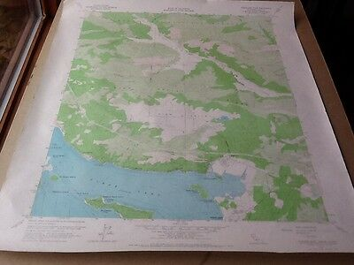 1958 Dept Of Interior Topo Map Lot #140, Clearlake Oaks, Calif., Clear Lake