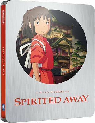 Spirited Away - Limited Edition Steelbook (Blu-ray) PRE-ORDER!! NEW!!