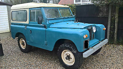"LANDROVER SWB SERIES 2a  88""  TAX EXEMPT LAND ROVER"