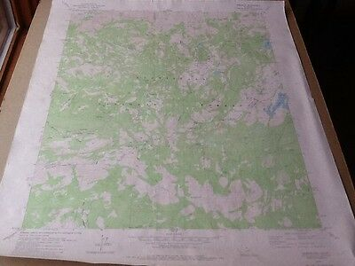 1979 Dept Of Interior Topo Map Lot #145, Tamarack, Calif., Bear Valley Ski Area
