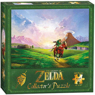 The Legend Of Zelda Link's Ride Collector's Puzzle 550 pcs USAOPOLY