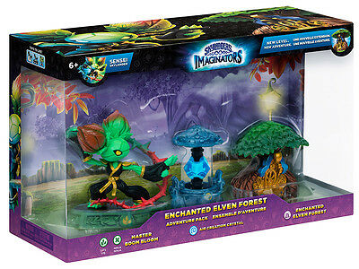 Skylanders Imaginators Adventure Pack 2 Bloom Bloom, Air Crystal & Treehouse Set