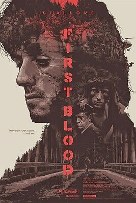 First Blood  003  (Sylvester Stallone  /  1982)