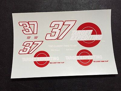 Bob Strait 1/24 Target Expediting Nascar ARCA Decals
