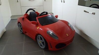 Kids Red Feber Ferrari F430 Battery Powered Electric Ride on Toy Car