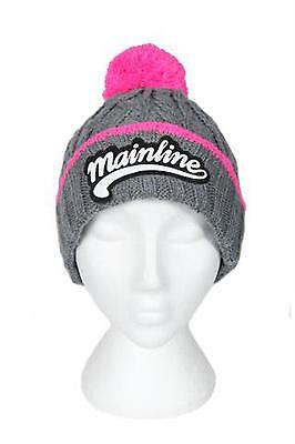Chunky Beanie Bobble Hat by Mainline